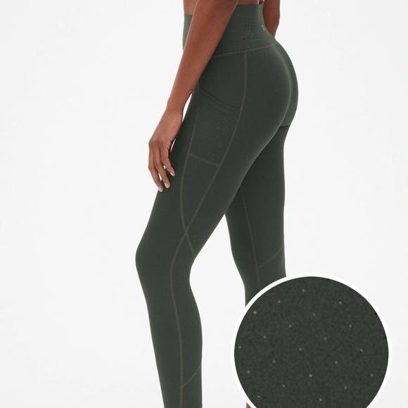 0110826d62780d GAP Pants | Fit High Rise Perforated Pocket 78 Leggings | Poshmark